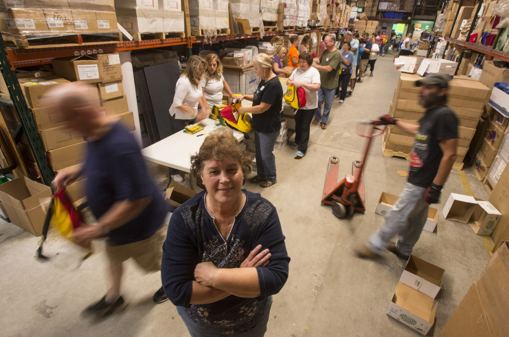 Ruth Libby runs Ruth's Reusable Resources, which has given away $50 million worth of donated classroom supplies to teachers over the past 20 years.