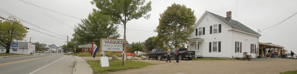 The Vazquez family business began in 2001 with a food truck in Deblois, where they served workers from the Jasper Wyman & Son blueberry fields and processing facility. Earlier this year the Vazquezes opened a takeout place at this property on Main Street in Milbridge.