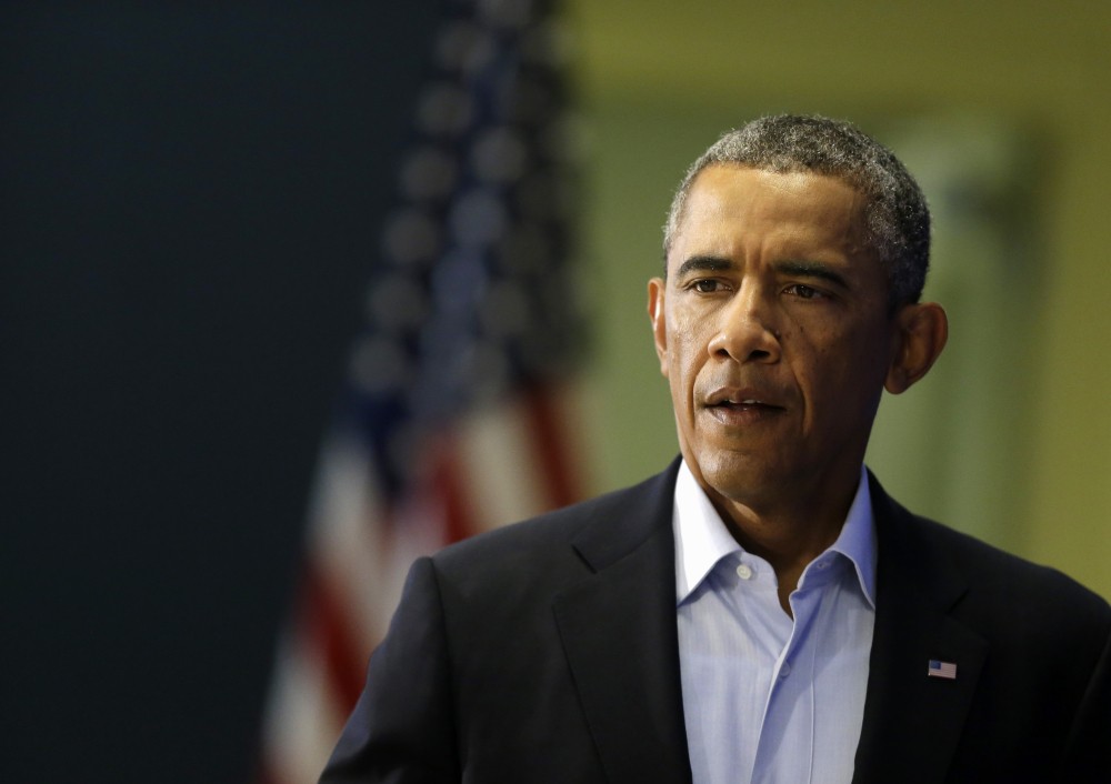 President Barack Obama on Wednesday said the U.S. will continue to confront Islamic State extremists despite the brutal murder of journalist James Foley.