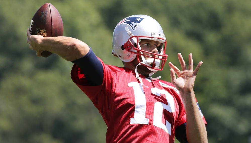Patriots quarterback Tom Brady is not sure how long he will play in Friday night's preseason game against the Carolina Panthers. But you know he will be ready.