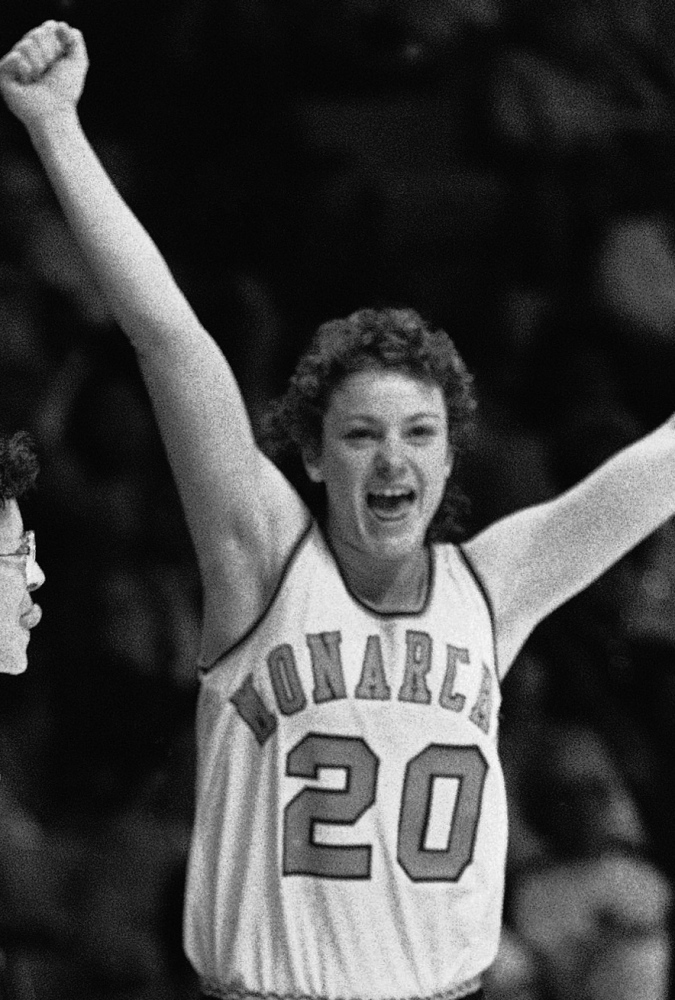 Lisa Blais, now Lisa Blais Manning, got to experience a college athlete's greatest joy during the final seconds of Old Dominion's victory against Georgia in the 1985 NCAA championship game. The Associated Press