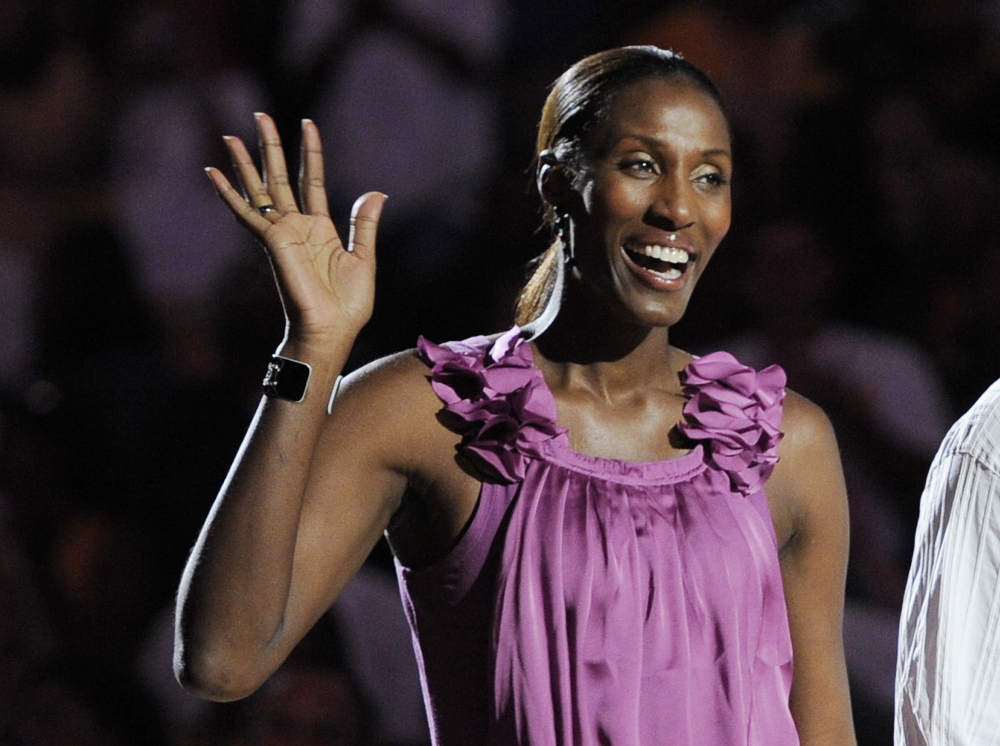 """Retired Los Angeles Sparks basketball player Lisa Leslie will be among the contributors to """"We Need to Talk,"""" which premieres Sept. 30."""