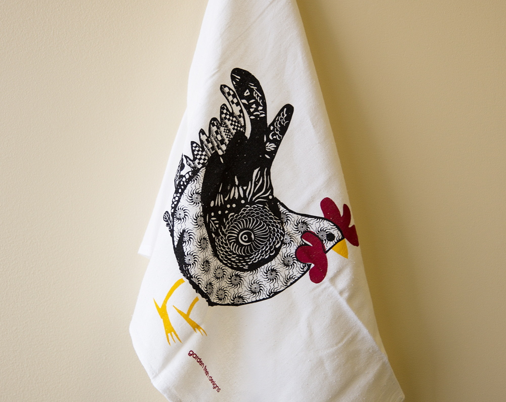 Garden Fresh Dish Towels are both whimsical and practical.