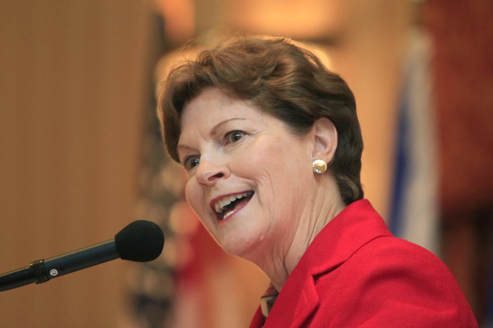 A campaign ad targeting U.S. Sen Jeanne Shaheen, D-N.H., was altered after her campaign complained to the broadcaster about inaccuracies in it.
