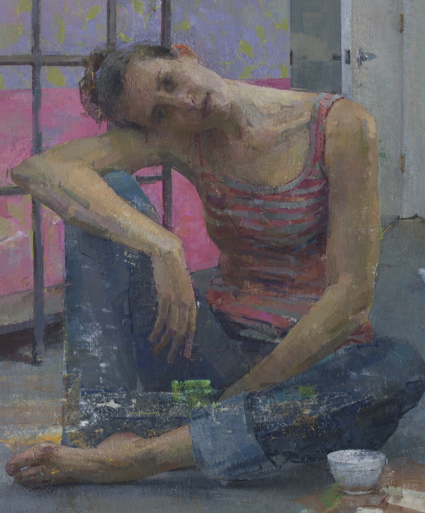 """""""Pink and Grey,"""" by Zoey Frank"""