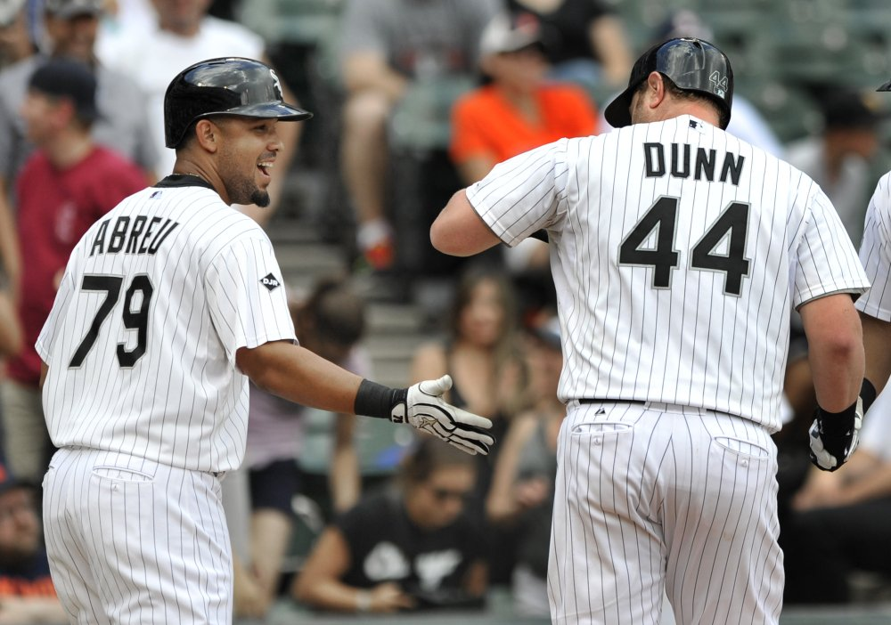 On Saturday, Adam Dunn, 44, was playing for the White Sox. Now he's with Oakland, which is hoping he can boost their struggling offense.