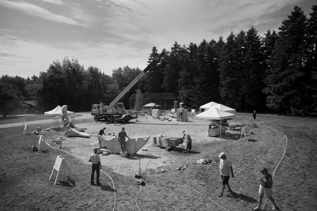 Schoodic Sculptures Rise From The Dust The Portland