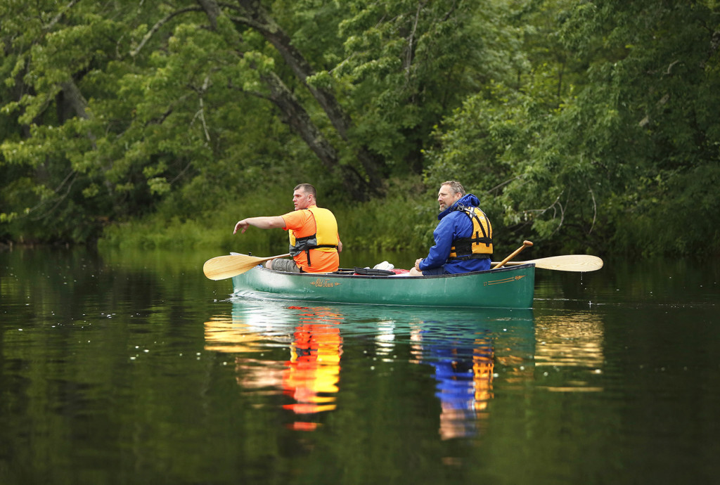 Paddling The East Branch Of The Penobscot River The
