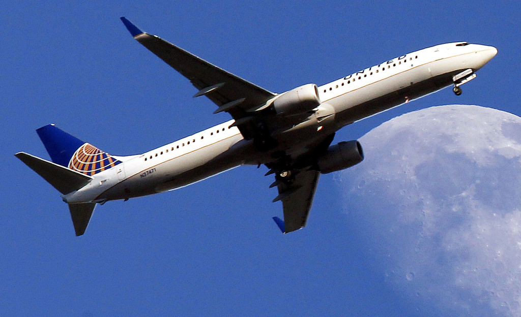 United Airlines had a 70.1 percent on-time record in June. 2013 File Photo/The Associated Press