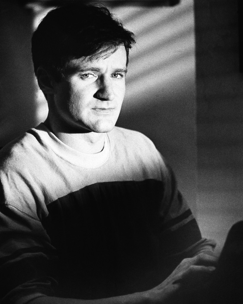 """This 1982 photo, originally released by Warner Bros. Pictures, shows actor Robin Williams as T.S. Garp in the film """"The World According to Garp."""""""