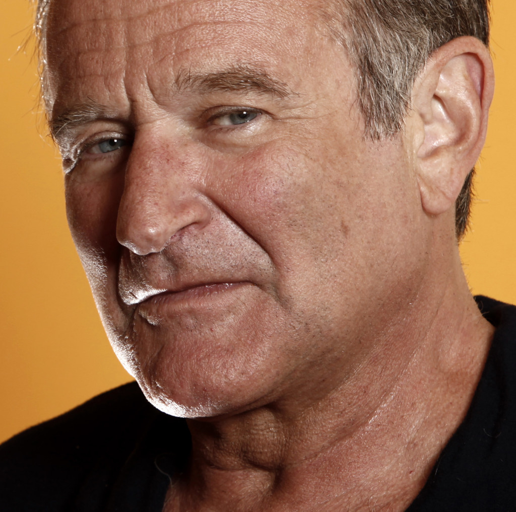 """This 2009 photo shows actor Robin WIlliams from the film """"World's Greatest Dad."""""""
