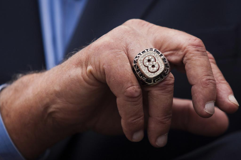 Carl Yastrzemski's ring. Reuters