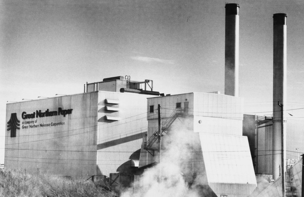 Historical Images Of Great Northern Paper The Portland