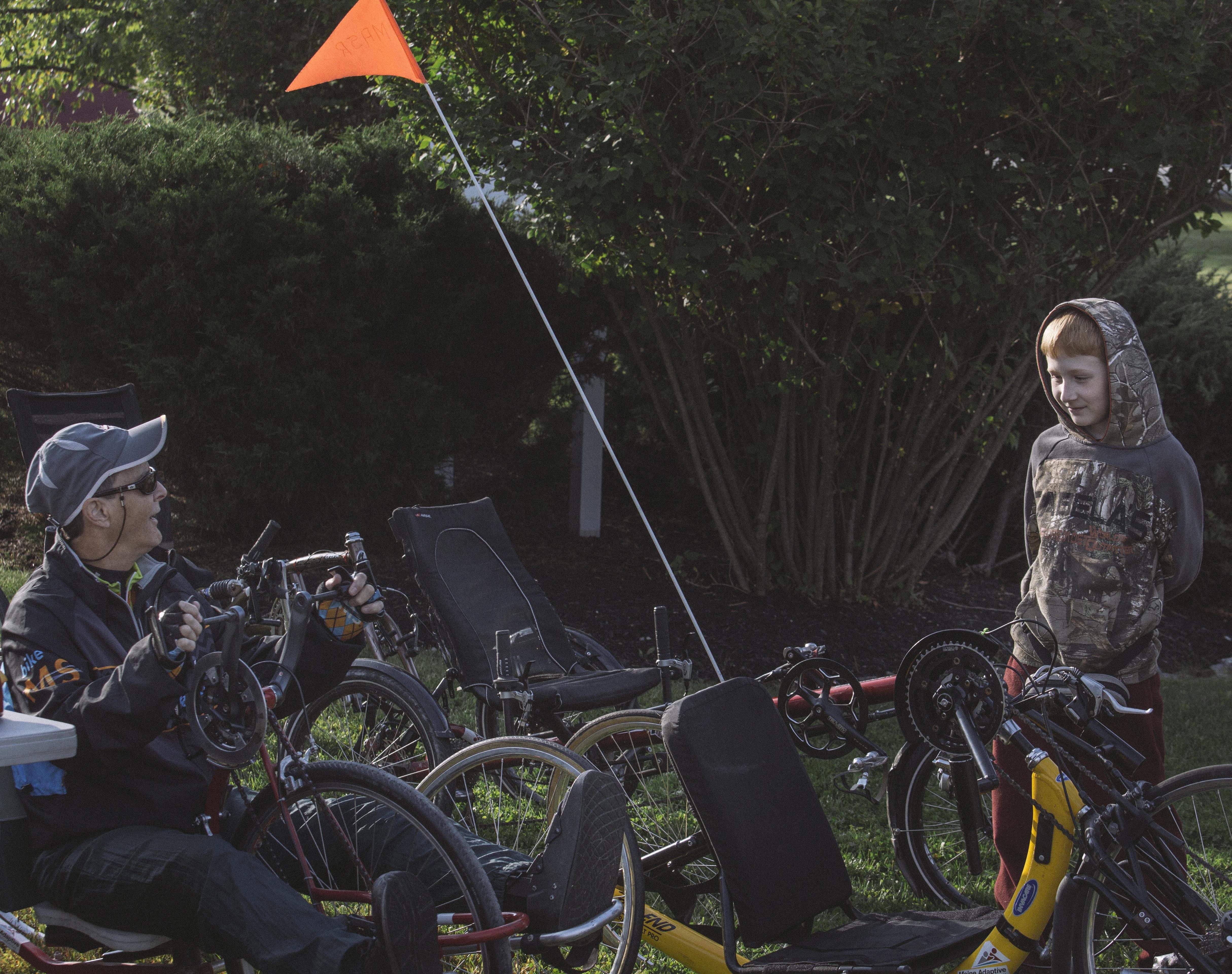 Maine adaptive the portland press herald maine sunday for Bike rides in maine