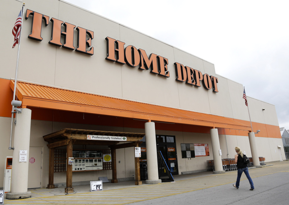 """Home Depot said Tuesday that it's looking into """"unusual activity"""" and that it's working with both banks and law enforcement after suspicions of a credit card data breach."""