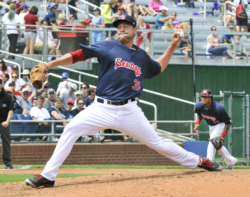 Brian Johnson will start Wednesday's playoff opener for the Sea Dogs after a stellar regular season. He was 10-2 with a 1.75 ERA, the lowest in the Eastern League since 1985.