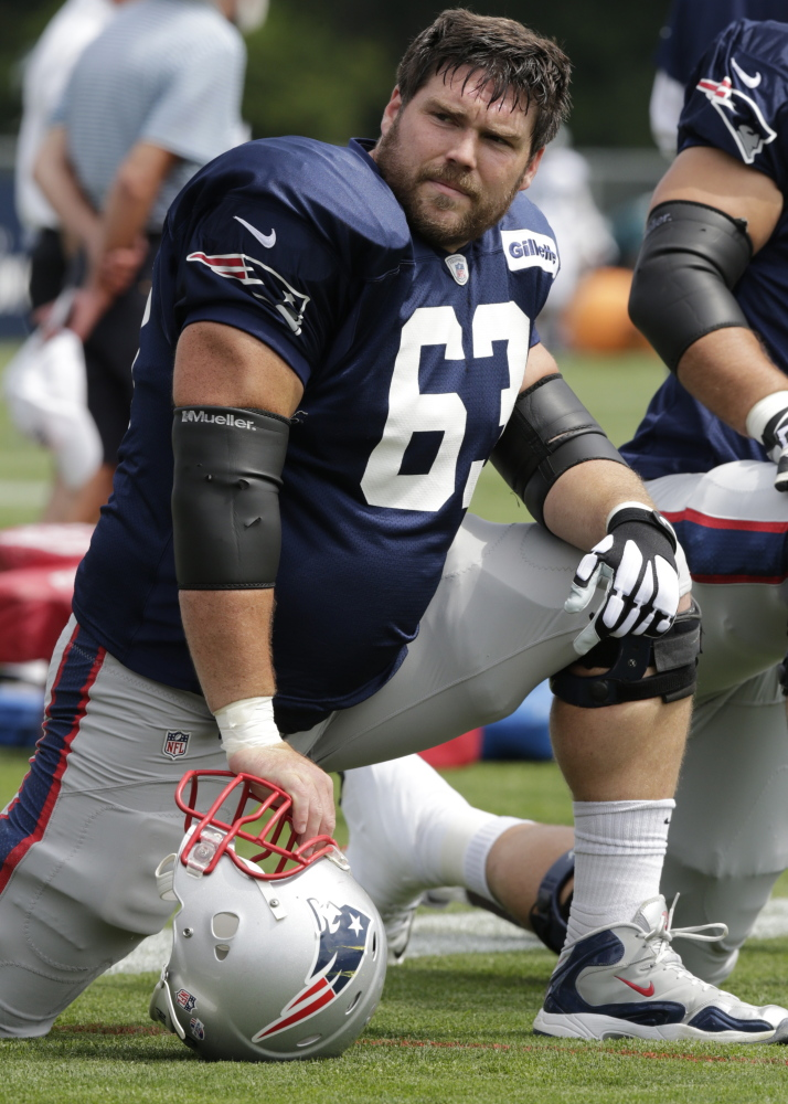 Dan Connolly appears set as one of the starters on the offensive line, but where? Could be at guard, could be at center.