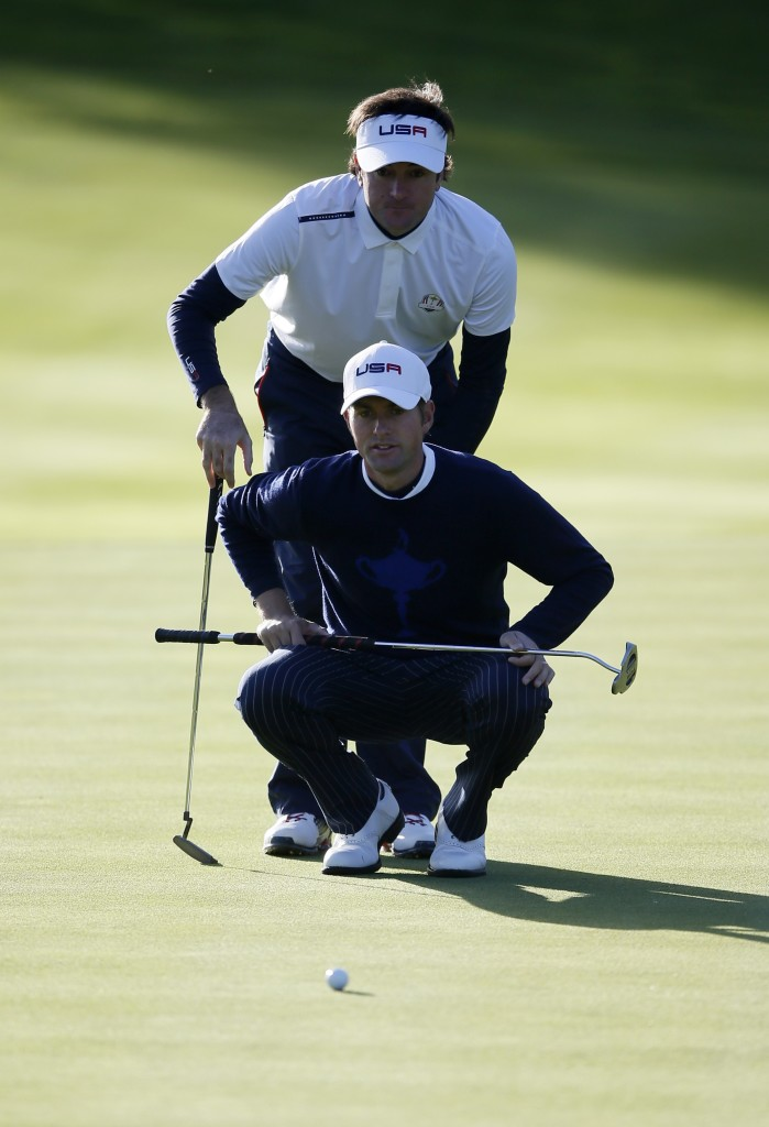 Europe takes 5-3 lead at Ryder Cup