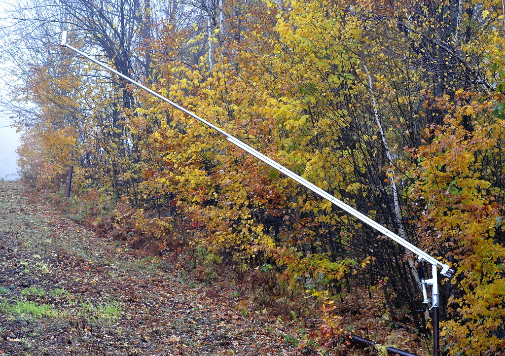 """The Mount Abram Ski Area has installed high-efficiency snow guns in its effort to be a """"sustainable mountain playground."""""""