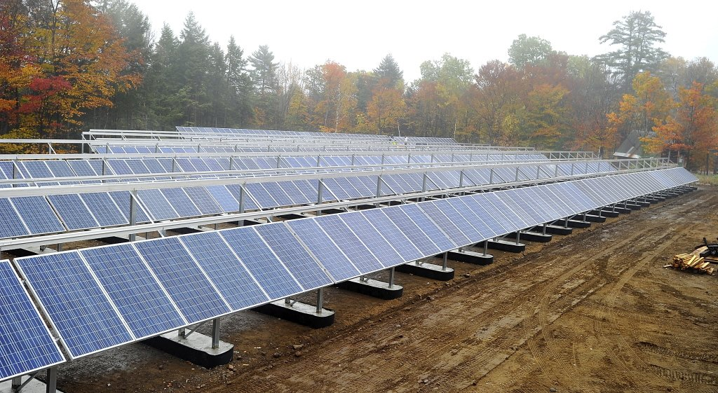 Mount Abram's $940,000 solar power project was funded in part with a grant from the U.S. Department of Agriculture's Rural Energy for America Program.