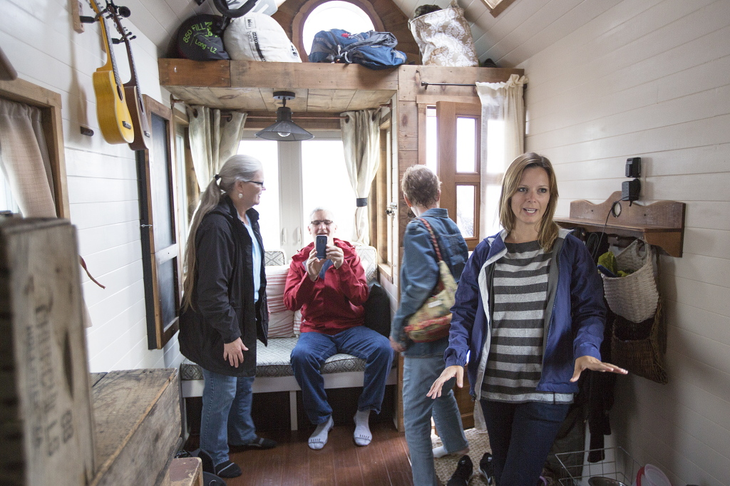 Tiny house makes big impression: See the photo gallery ...