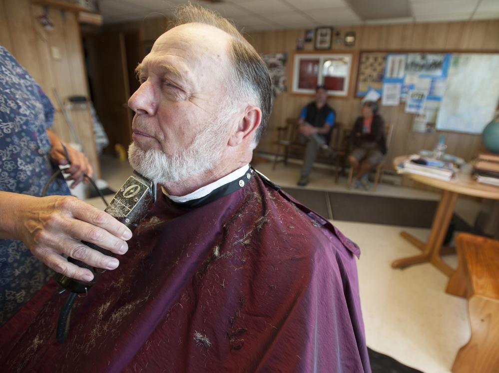 Barber Shop Portland Maine : Barber Frank Dunbar, a town councilor who has run a barber shop on ...