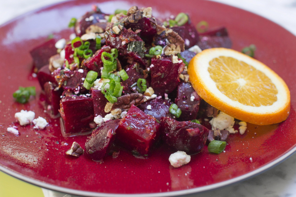 Roasted beets can brighten up any holiday table - The ...