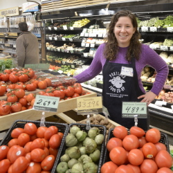 """Mary Alice Scott, education and outreach coordinator at the Portland Food Co-op, says, """"We're here to serve the community and not just sell food."""""""
