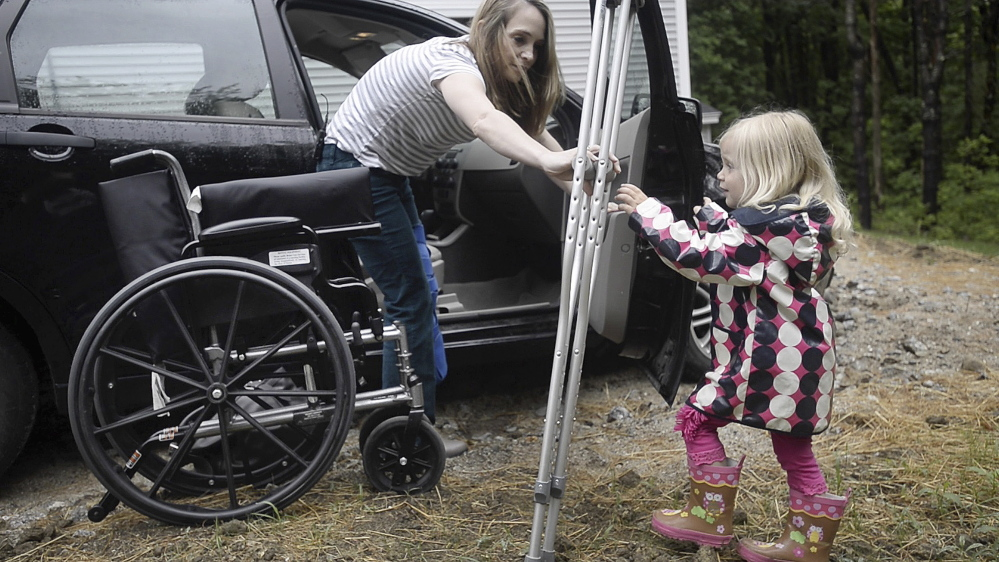 Maine Mother Uses Unusual Method To Find Relief From