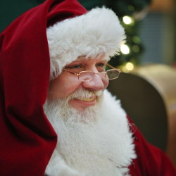 Jolly as always, Santa Claus now has time for extended rest and relaxation even though it's never too early to begin planning for the next year.