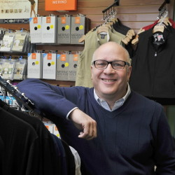Sam Hirsh owns TripQuipment, a travel goods store, on Route 1 in Falmouth. The store has three full-time employees and one summer employee.