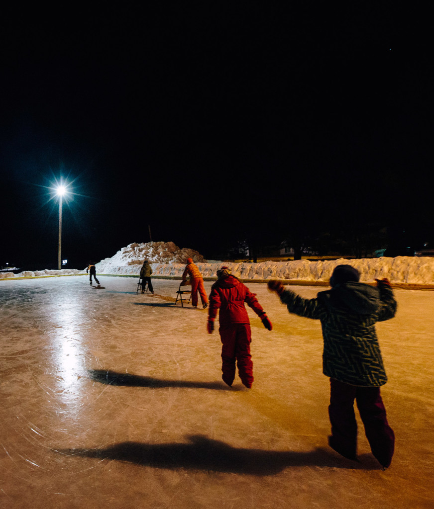 Norway's Outdoor Skating Rink Christened