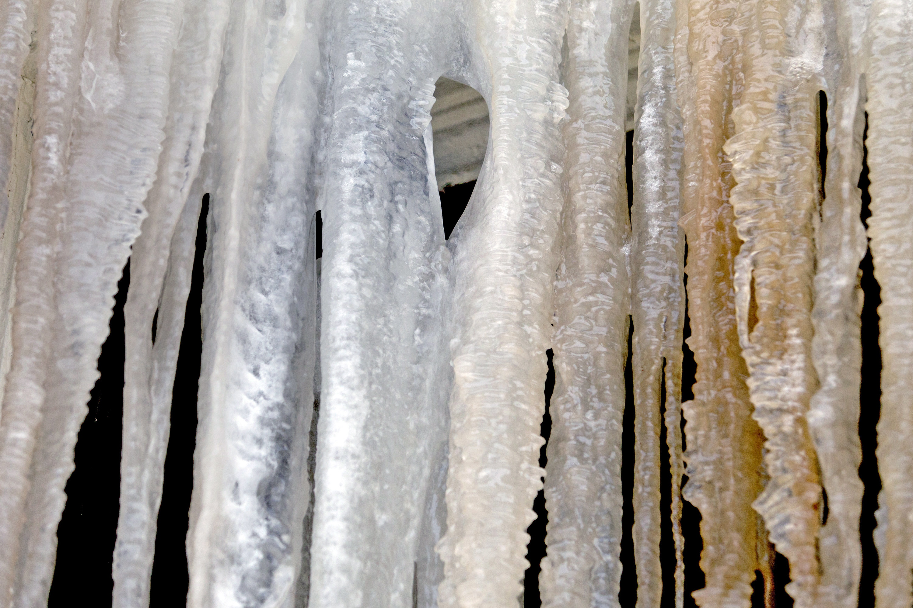 Icicles Punctuate A Long Long Winter The Portland Press