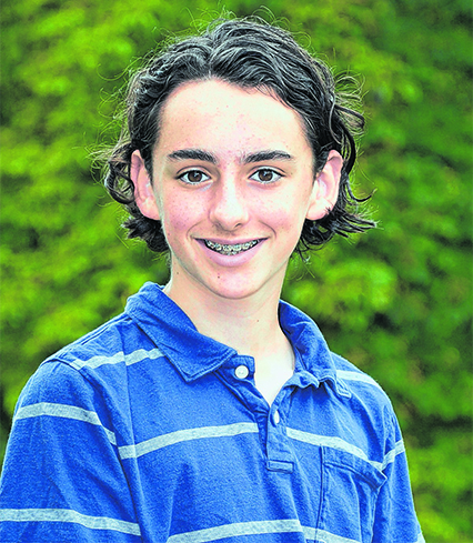York County champion: Bryce Morales, grade 8, Berwick Academy, South Berwick