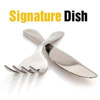 Signature dish logo