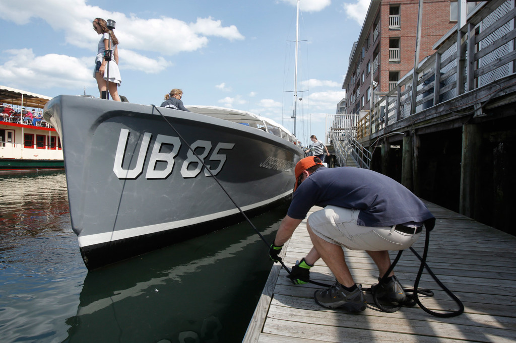 New Boat In Portland Harbor Is Meant To Make Waves The