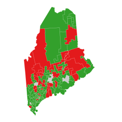 VoteTrac results for the House vote to override Governor LePage's veto of the 2016-2017 state budget.
