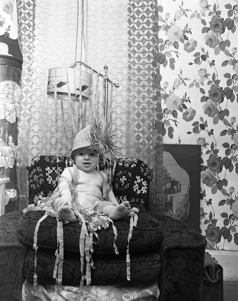 1950 New Year's baby. From the Portland Public Library archival collection of Portland Press Herald, Maine Sunday Telegram and Evening Express photos.