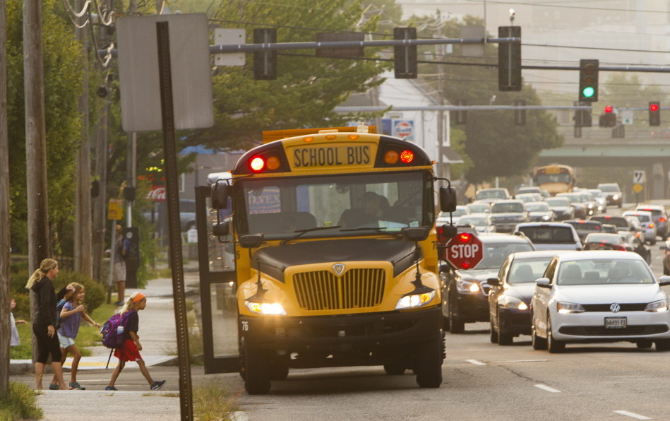 Some parents question safety of new school bus stops on ...