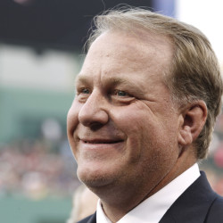 Former Boston Red Sox pitcher Curt Schilling