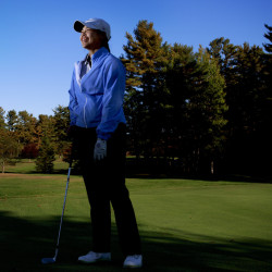 Hashilla Rivai, a Thornton Academy senior from Indonesia, will seek a second straight girls' golf state title Saturday during the championships at Natanis in Vassalboro.
