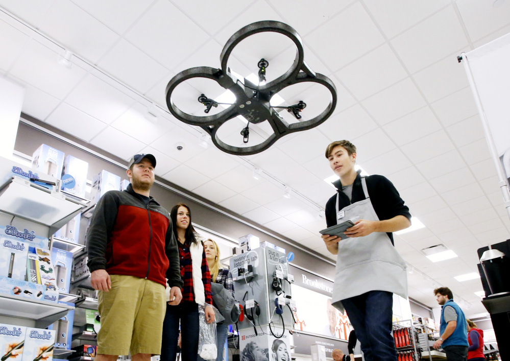 Maine Auto Mall >> What's the buzz? It's a growing fleet of drones flying ...