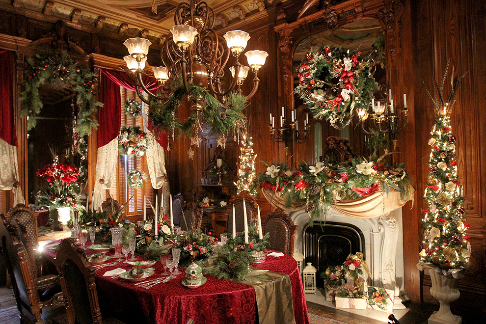 Christmas Finery At Victoria Mansion The Portland Press