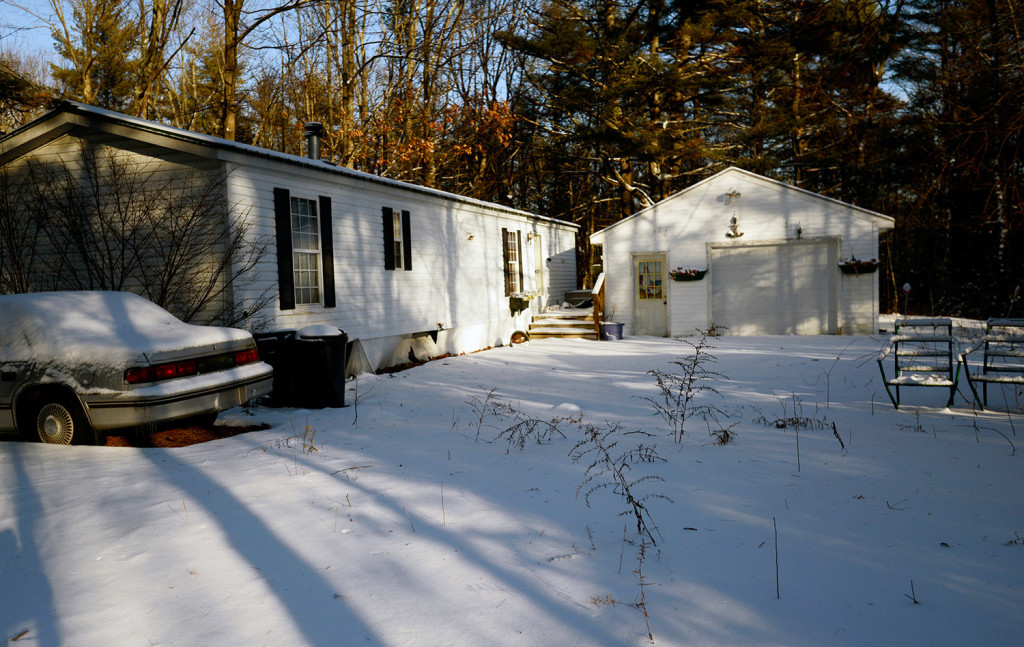 Police found the body of Lucie McNulty, a retired New York music teacher, in her mobile home on Atkins Lane in Wells. Police believe McNulty died in the home more than two years ago.