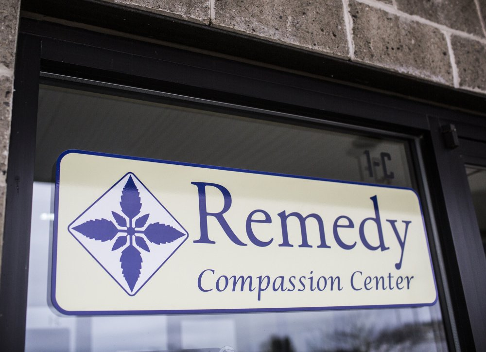 The Remedy Compassion Center in Auburn. Whitney Hayward/Staff Photographer