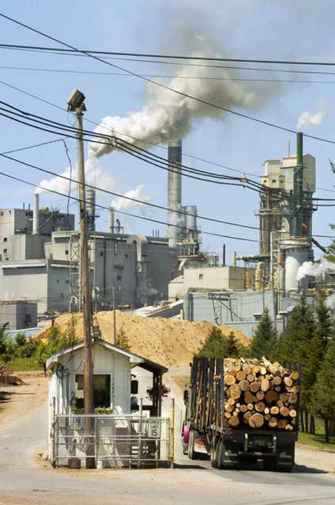 Verso Paper Corp. has sold the power plants at its Androscoggin mill in Jay.