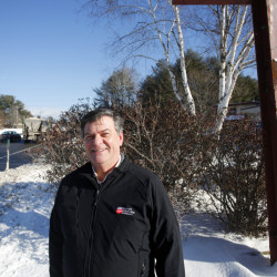 """Lincoln Merrill, president and CEO of Patriot Insurance Co., says the property at 705 U.S. Route 1 in Yarmouth """"really fits our needs as an employer and as a business."""""""