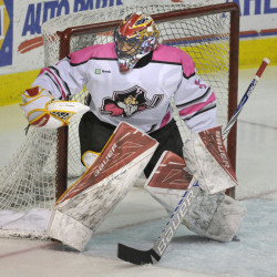 Mike McKenna, now the winningest goalie in Portland Pirates history, is 80-45-12 in three seasons with the Pirates after back-to-back wins Friday and Saturday against Springfield.