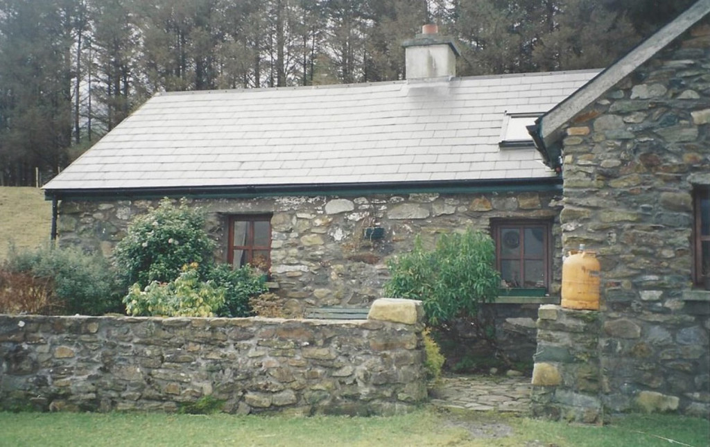 The stone farmhouse in Tiernakill, Ireland, where Martin Joyce, Deb Sullivan Gellerson's maternal grandfather, was born in 1894, shortly before his family emigrated to the United States and settled in Portland.