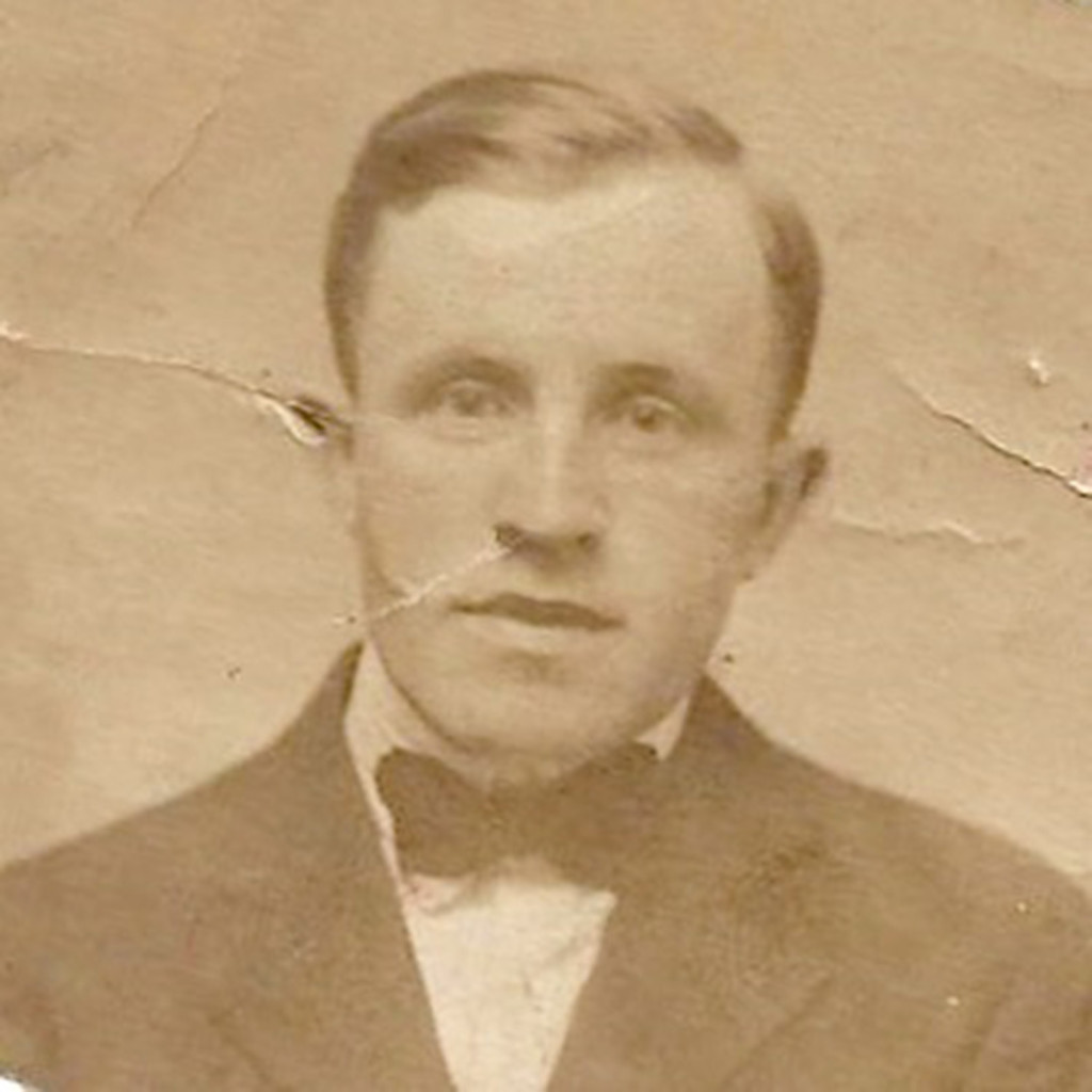An early 1900s photo of Martin Joyce, maternal grandfather of Deb Sullivan Gellerson, who used DNA testing to confirm her family connection to relatives still living in an area known as Joyce Country, County Galway, Ireland.